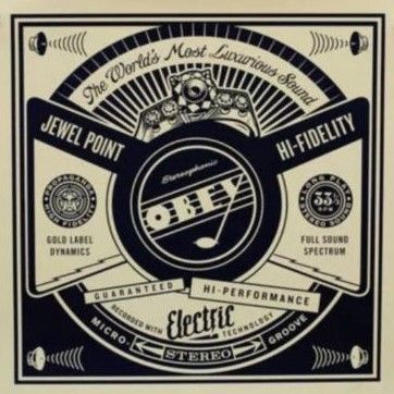 Shepard Fairey (OBEY)  - Luxurious sounds