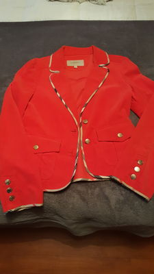 Burberry Fustian Red Jacket