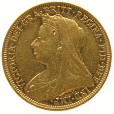 Great Britain – Sovereign 1893 Victoria – gold