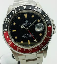 Rolex Fat Lady GMT 16760 – Wristwatch – 1987