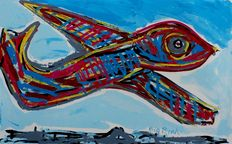 Karel Appel - Big bird F 28