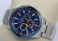 Seiko Solar Chronograph – Men's wristwatch – unworn