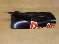 Red Bull RB2 David Coulthard Raced Air Intake Side Pod  F1 Formula One Carbon Fiber