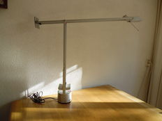 Richard Sapper for Artemide - table/desk lamp Tizio, limited silver edition, 1998.