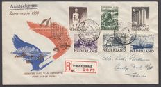 The Netherlands 1950 – First Day Cover Summer – NVPH E1