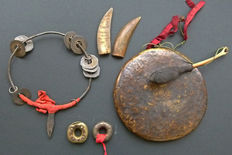 Complete set of shaman tools, Hmong – Laos – 19th/20th century