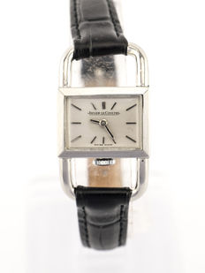 "LeCoultre ""Driver's Watch"" jewellery watch for women, art deco, 1940s"