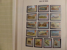 Isle of Man 1973/1999 – Collection in Davo preprint album