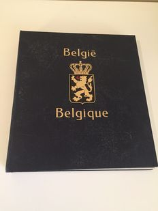 Belgium - Collection in a Davo album