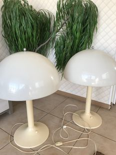 Unknown designer - floor lamp (2x)