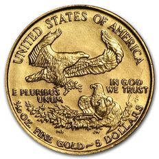 United States - $5 - US Mint American gold Eagle 1987 916,6 / 1000 gold / gold coin -.