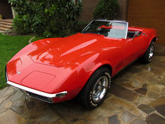 Chevrolet - Corvette Stingray Cabriolet - 1968