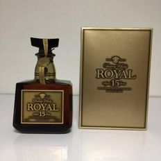 Suntory Royal Whisky aged 15 years gold label - 750ml