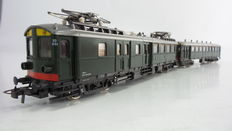 "Roco H0 - 4189S/4190S - Electric 2-piece Passenger train set ""Blokkendoos Mat'24"" 2nd/3rd class of the NS"