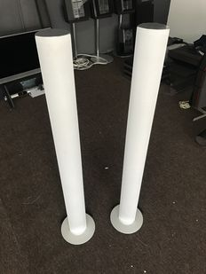 Bang & Olufsen BeoLab 6000 white/chrome speakers