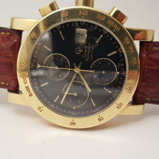Girard Perregaux GP 7000 gold 18k chronograph mens watch