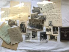 Original historical lot 2nd world war pictures field mail
