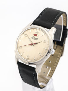 LeCoultre POWERMATIC Automatic men's watch with power reserve display, 1950s