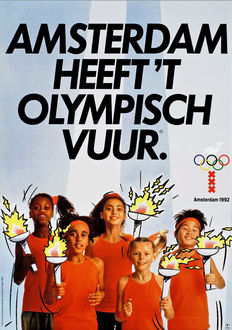 Anonymous - Olympic Games Amsterdam 1992 - 1984