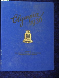 Olympia 1936 collecting picture album volume 1 and volume 2 complete