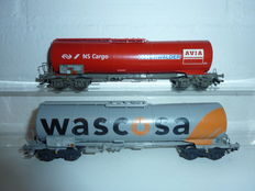 Märklin H0 - 46552 - Set of 2 tankers Wascosa and Avia of the NS Cargo and SBB