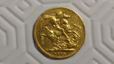 United Kingdom - Sovereign - 1890 - Queen Victoria - Gold