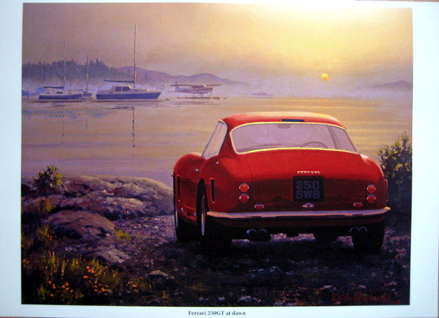 "Limited Art Edition -  Ferrari 250 GT ""At Dawn"" - 1955 (1 items)"