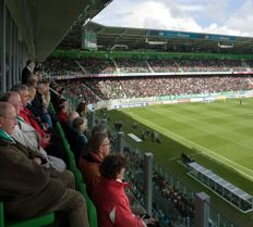 Watch FC Groningen - NEC (April 5) from a skybox with 15 people.