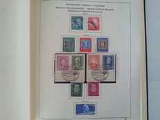 Federal Republic of Germany 1949/1979 - collection in Schaubek albums