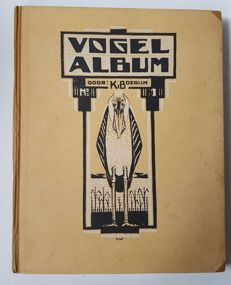 Picture card albums; lot with 5 albums, including Jac. P. Thijsse and K. Boedijn bird album - 1912/1949