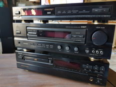Denon Top set.  surround amplifier AVC 1530 with tuner TU 580 and CD player DCD 1015