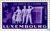 Postage Stamps - Luxembourg - Human Rights