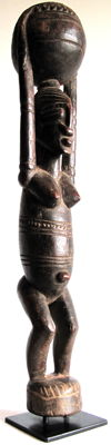 A fine female figure  –  DOGON  –  Mali