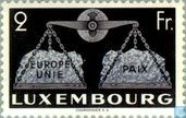 Timbres-poste - Luxembourg - Europe et Paix