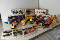 Legoland - 6 sets incl. 622 + 656 + 688 - Baggage Carts + Car and Caravan + Shell Tank Truck