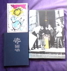 Cobra; Lot with 2 books and an original lithograph - 1997 / 1998