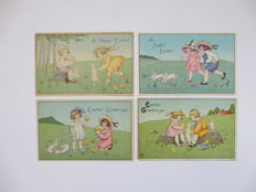 Lot of 36 beautiful fantasy cards amongst others many Easter cards.
