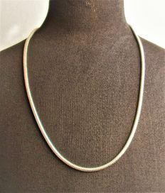 925 silver necklace, length 56