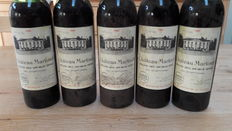1969, Chateau Martinet Cru Exceptionel, 5 bottles