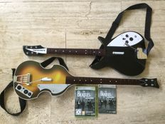 Beatles guitars with XBOX cd size: 1 meter