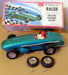 "Sears Exclusive, Japan - Length 38 cm - Tinplate friction ""The Turnpike Line Racer"", 1960s"