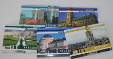 Germany - Annual sets 2003 (5 pieces) with medals from 5 cities