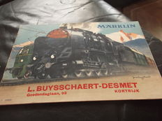 Märklin 0/00 -  Catalogue from 1938/1939 with encloseddiscount coupon, in French