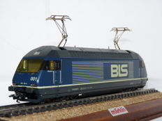 Märklin H0 - 3763 - Electric locomotive Re 465 of the Berner Alpenbahngesellschaft (BLS)