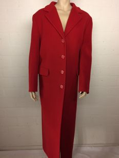 Erich Fend - Long coat made of wool and cashmere