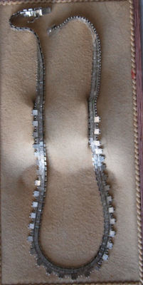 Italy - silver necklace