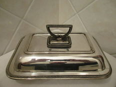 "Serving dish ""RR"" Sheffield 1953"