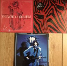 White Stripes/Jack White LP collection || 3 LPs || Rarities ||