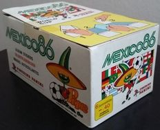 Panini - World Cup Mexico 1986 - original sealed Box with 100 packets.
