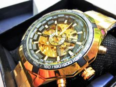 Luc Desroches – Rare skeleton watch for men – 2013 – SQ0030